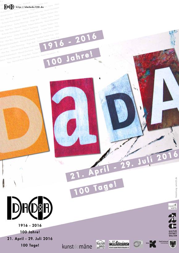 DADADO100 Plakat