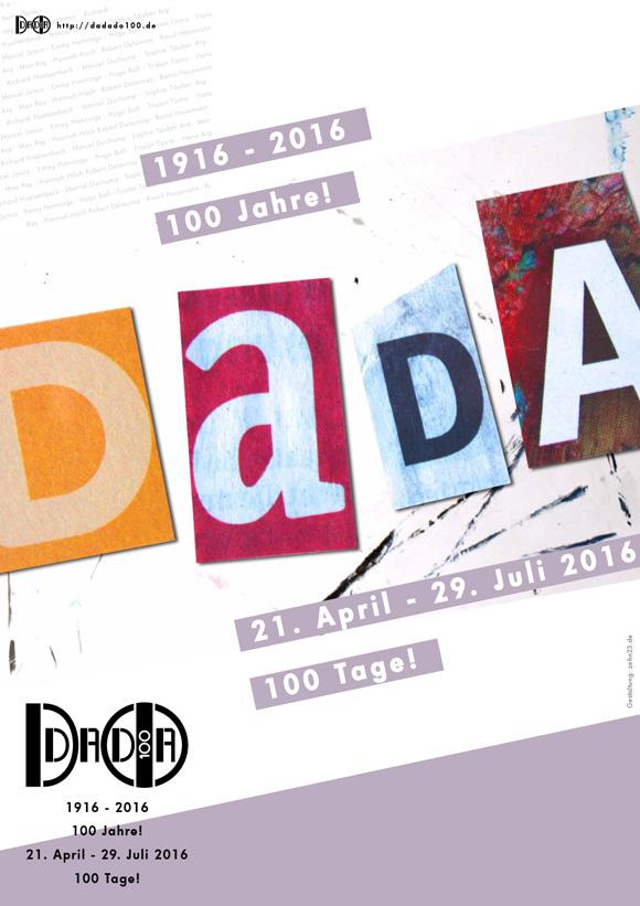 Plakat und Flyer dadado100