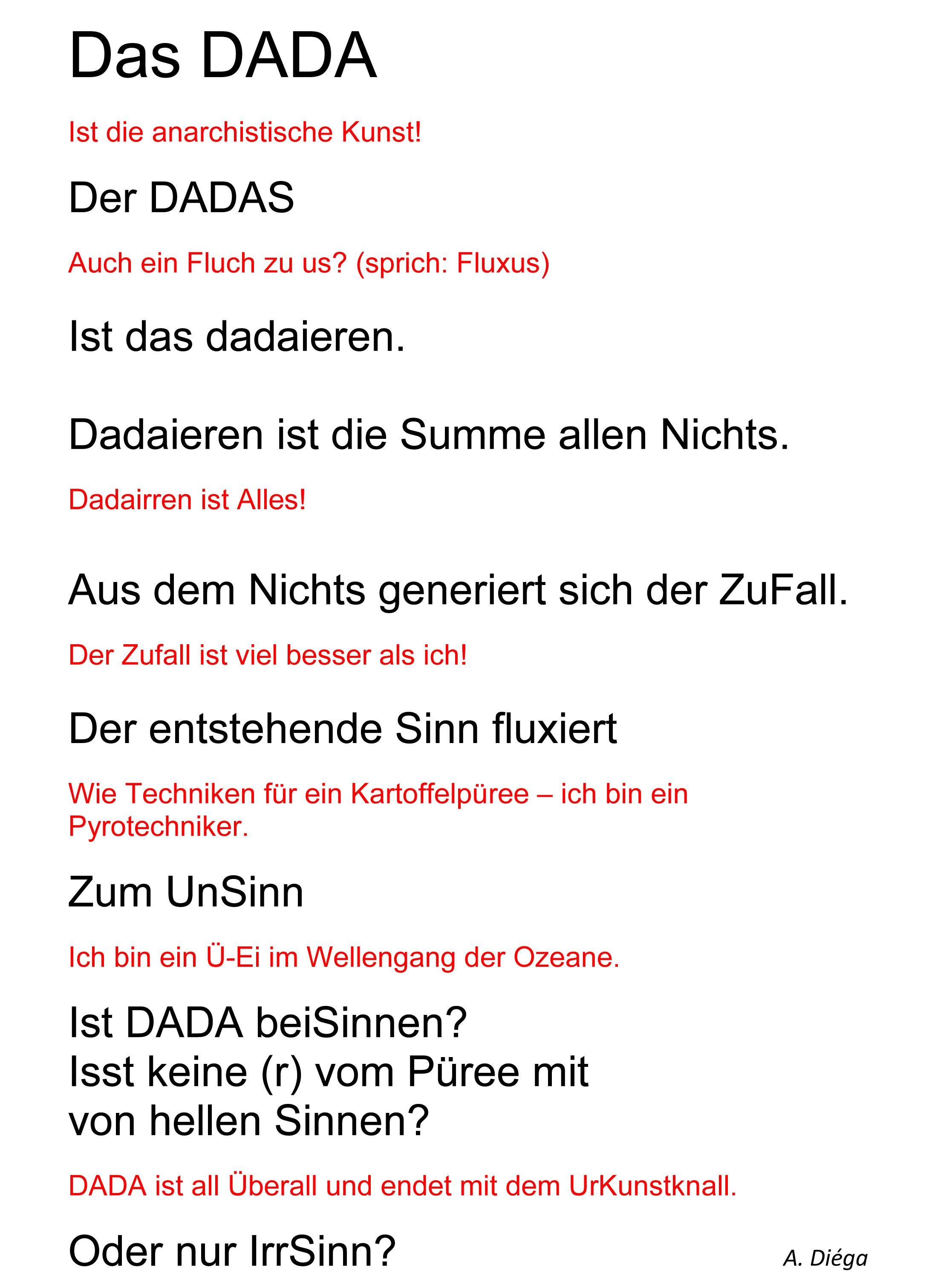 Das DADA der DADAS