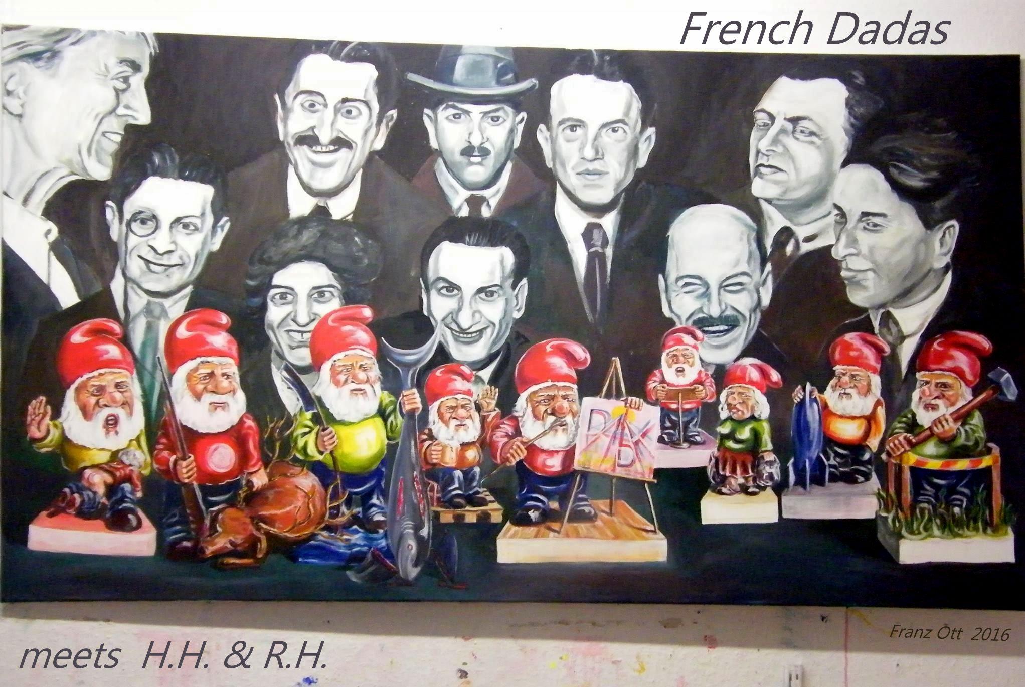 French DADA meets HH und RH signiert