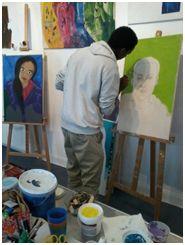ein Teilnehmer 2014-2015 Wo geht Kunst